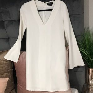THE FIFTH LABEL white moo moo style dress